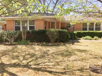 Dallas County Single Family Home For Sale: 7216 Lehigh Drive