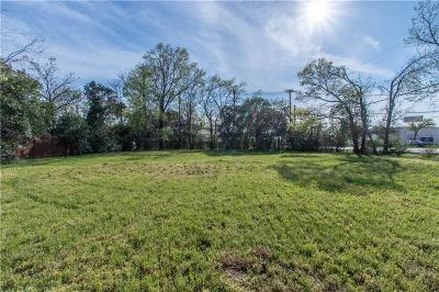 North Richland Hills Residential Lots & Land Active Option Contract: 4821 Ash Street