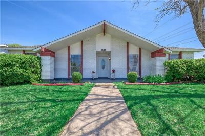 Plano Single Family Home Active Option Contract: 6500 Chinaberry Trail