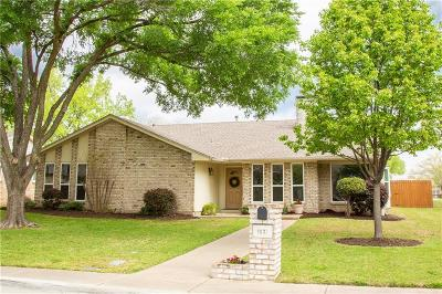 Richardson Single Family Home Active Contingent: 1607 Villanova Drive