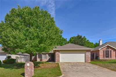 Mansfield TX Single Family Home Active Option Contract: $180,000