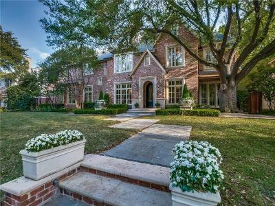 Highland Park, University Park Single Family Home Active Option Contract: 3112 Stanford Avenue