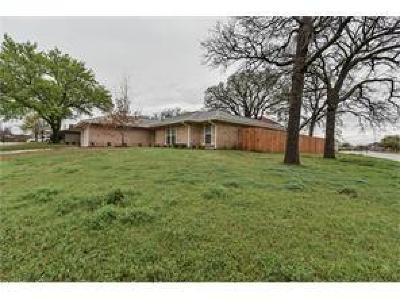 Mansfield TX Single Family Home Active Option Contract: $209,900