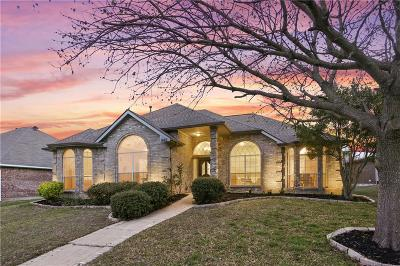 Lewisville Single Family Home Active Option Contract: 1646 Shannon Drive