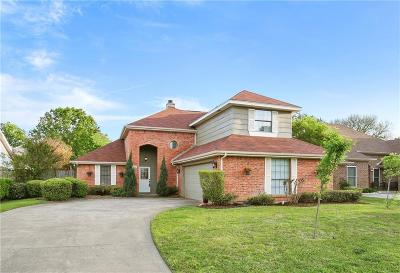 Grapevine Single Family Home Active Option Contract: 605 Ellington Drive