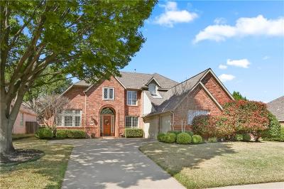 Flower Mound Single Family Home Active Kick Out: 2820 Lake Ville Lane