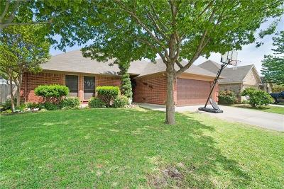 Saginaw Single Family Home Active Option Contract: 424 Willow Vista Drive