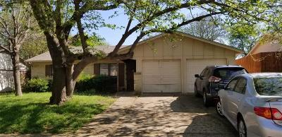 Plano Single Family Home Active Option Contract: 2102 Red Bud Lane