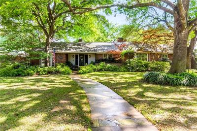 Dallas County Single Family Home For Sale: 6114 Boca Raton Drive