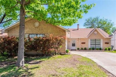 Forney Single Family Home Active Option Contract: 406 Redbud Drive