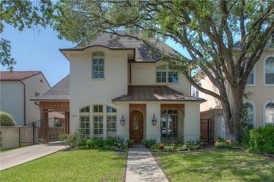 Fort Worth Single Family Home For Sale: 4823 Lafayette Avenue
