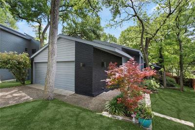 Dallas Single Family Home Active Option Contract: 965 Easton Place