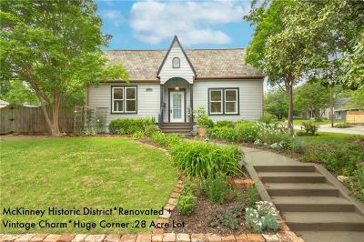 McKinney Single Family Home For Sale: 400 S Waddill Street