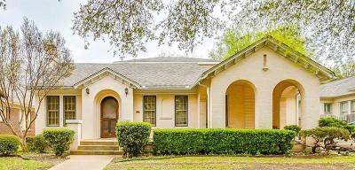 Fort Worth Single Family Home For Sale: 2609 Greene Avenue