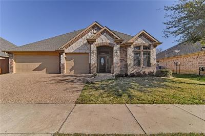 Denton Single Family Home Active Option Contract: 5912 Parkplace Drive