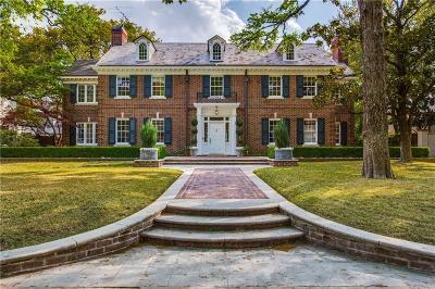 Highland Park Single Family Home For Sale: 4209 Lorraine Avenue