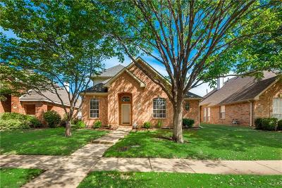 Lewisville Single Family Home Active Option Contract: 1649 Big Bend Drive