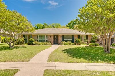 Richardson Single Family Home Active Option Contract: 405 Valley Glen Drive