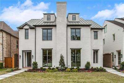 Allen, Dallas, Frisco, Plano, Prosper, Addison, Coppell, Highland Park, University Park, Southlake, Colleyville, Grapevine Single Family Home For Sale: 4417 University Boulevard #B