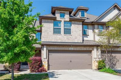 Plano Townhouse For Sale: 933 Jamesville Lane