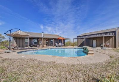 Archer County, Baylor County, Clay County, Jack County, Throckmorton County, Wichita County, Wise County Single Family Home For Sale: 154 Miller Creek Lake Road