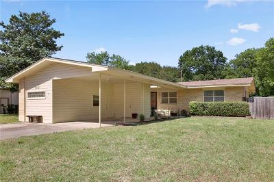 Single Family Home For Sale: 7303 Wake Forrest Drive