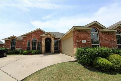 Wylie Single Family Home For Sale: 1318 Lake Trail Court