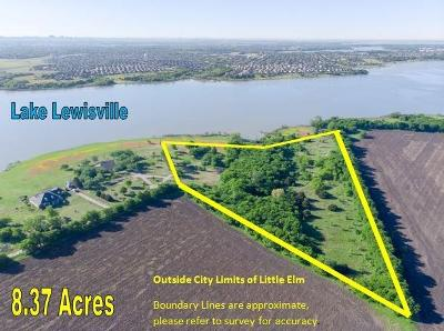 Little Elm Residential Lots & Land For Sale: 699 Doe Creek Road