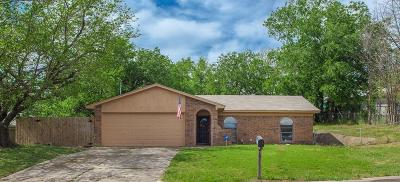 Watauga Single Family Home Active Option Contract: 6004 Barry Drive
