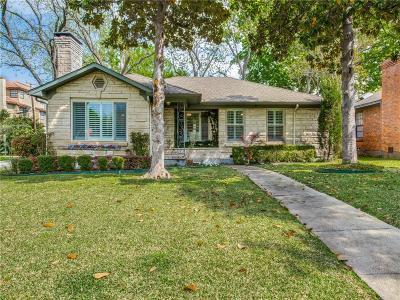 Dallas Single Family Home For Sale: 5503 Druid Lane