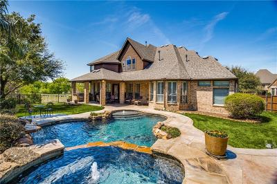 McKinney Single Family Home Active Contingent: 8109 Penobscot Lane