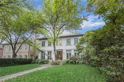 Highland Park Residential Lease For Lease: 3712 Normandy Avenue
