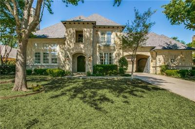 Coppell Single Family Home For Sale: 631 Stratford Lane
