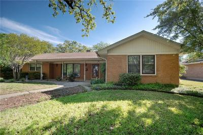 Fort Worth Single Family Home Active Option Contract: 1601 Azteca Drive