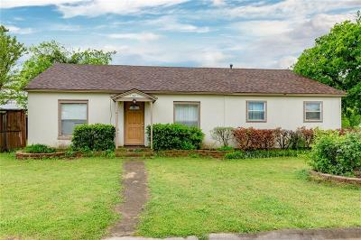 Krum Single Family Home Active Option Contract: 341 W Lake Street