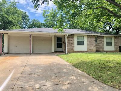 Euless Single Family Home Active Option Contract: 1108 Donley Drive