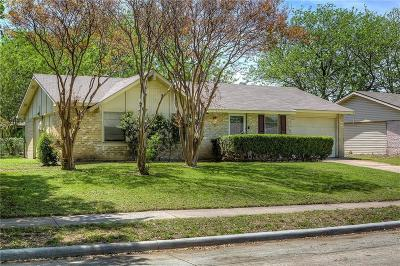 Plano Single Family Home Active Option Contract: 3353 Westminster Drive