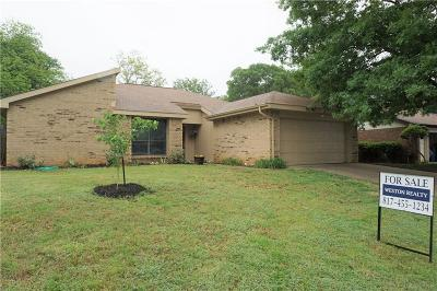 Euless Single Family Home Active Option Contract: 2404 Nettle Lane