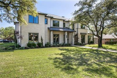 Dallas Single Family Home For Sale: 5628 Lindenshire Lane
