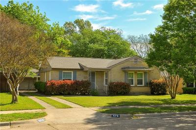 Single Family Home For Sale: 576 Brookhurst Drive