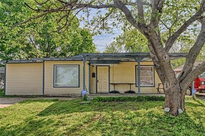 Grand Prairie Single Family Home Active Option Contract: 1041 Highland Drive