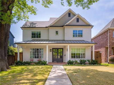 University Park Single Family Home Active Option Contract: 2813 Dyer Street