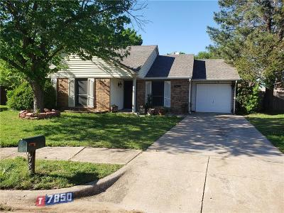 Fort Worth Single Family Home For Sale: 7850 Hollyberry Court