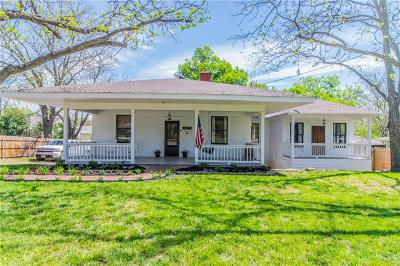 Weatherford Single Family Home Active Option Contract: 305 S Lamar Street