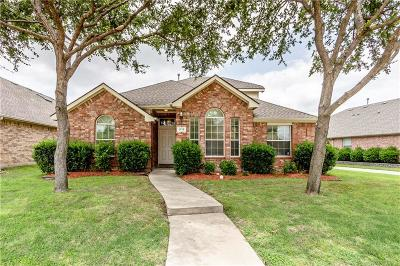 Allen Single Family Home For Sale: 1713 Mineral Springs Drive