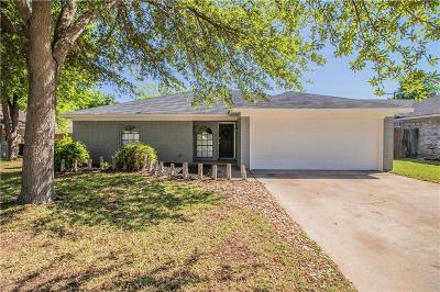 Benbrook Single Family Home Active Option Contract: 1516 Tobie Layne Street