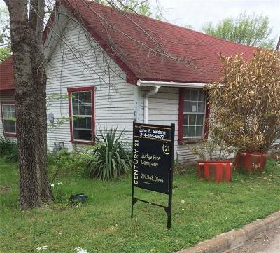 Farmersville Single Family Home For Sale: 414 S Main Street