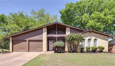 Bedford Single Family Home Active Option Contract: 2213 Highcrest Drive