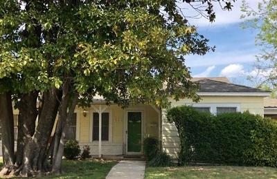 Comanche Single Family Home For Sale: 413 W College Avenue