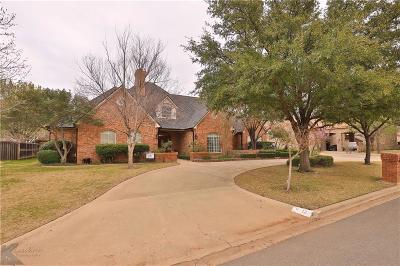 Abilene Single Family Home For Sale: 12 Glen Abbey Court